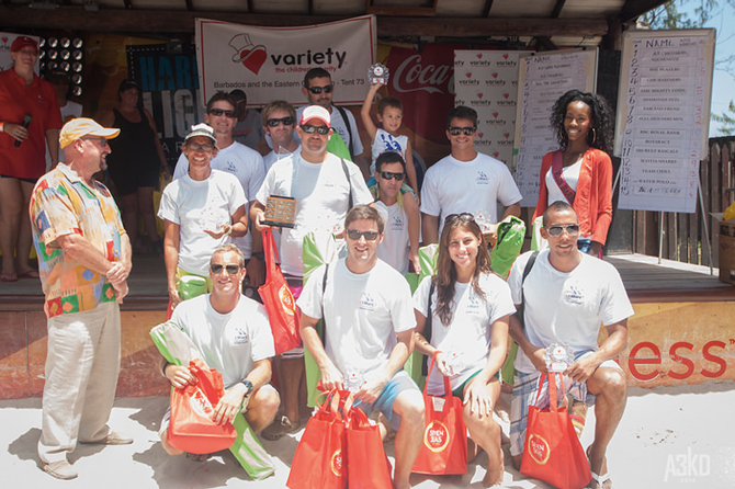 iMart Winners at Row for Charity Barbados